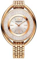 Swarovski Crystalline Rose Gold Plated White Crystal Dial Watch 5200341