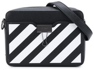 Off-White Diagonals Print Belt Bag