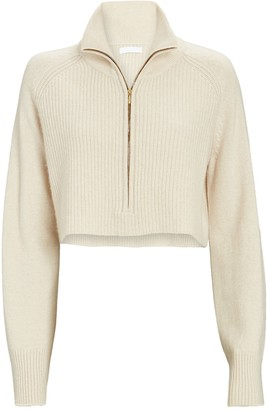 SABLYN Nash Cropped Cashmere Sweater