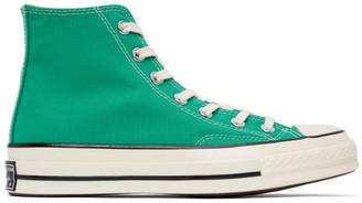 Converse Green Chuck 70 Hi Sneakers