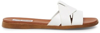Steve Madden Vivien White Leather
