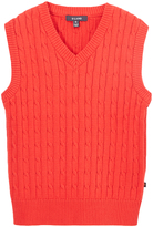 E-Land Kids Red Cable Vest - Toddler & Boys