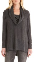 Michael Stars Cowl Neck High/Low Tunic Sweater