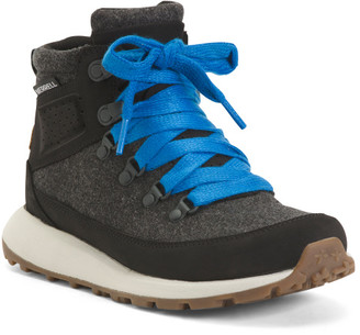 Comfort Chukka Leather Hiker Booties