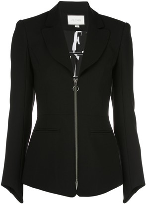 Alexis Zipped Fitted Jacket