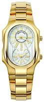 Philip Stein Teslar Men's 2GP-MWG-SSGP Signature Yellow Gold Bracelet Watch
