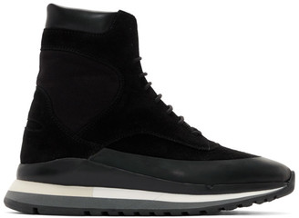 Spalwart Black Trail Blazer Boot Sneakers