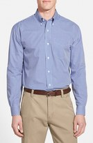 Cutter & Buck Men's Big & Tall 'Epic Easy Care' Classic Fit Wrinkle Free Gingham Sport Shirt