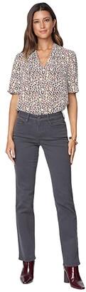 NYDJ Petite Petite Marilyn Straight Jeans in Vintage Pewter (Vintage Pewter) Women's Jeans