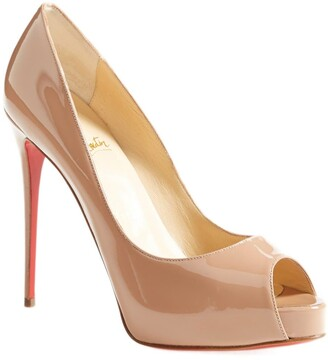 Christian Louboutin Prive Open Toe Pump