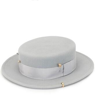 Ruslan Baginskiy Chain Detail Fedora Hat