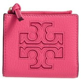 Tory Burch Women's 'Mini Harper' Leather Wallet - Black