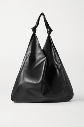 The Row Bindle Two Leather Shoulder Bag - Black