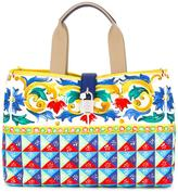 Dolce & Gabbana Mambo print shopper tote - women - Leather/Polyester - One Size