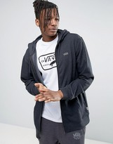Vans Core Zip-up Hoodie In Black V006IZBHH