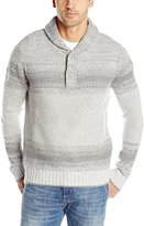 Nautica Men's Lofty Ombre Shawl Collar Sweater