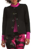 Trina Turk Colette Cropped Sleeve Bouyant Jacket