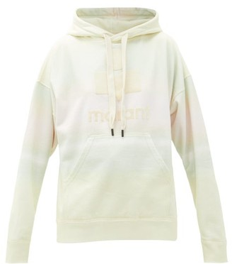 Etoile Isabel Marant Mansel Cotton-blend Hooded Sweatshirt - Cream Multi