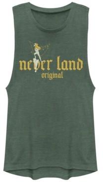 Fifth Sun Disney Juniors' Tinkerbell Neverland org Festival Muscle Tank Top