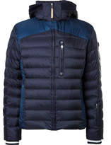 Bogner Cliff Quilted Ripstop Down Ski Jacket - Navy