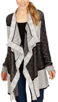Lucky Brand Womens Long Sleeve Draped Cardigan Sweater