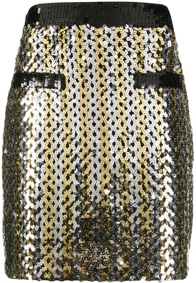 MSGM Disco Mini Skirt