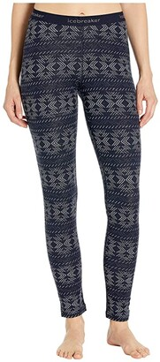 Icebreaker 250 Vertex Merino Leggings Crystalline (Midnight Navy) Women's Casual Pants