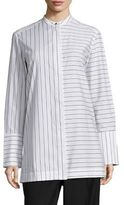 Aquilano Rimondi Long Sleeve Striped Shirt