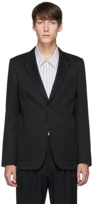 Ami Alexandre Mattiussi Navy Patch Pocket Blazer