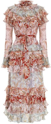 Zimmermann Ladybeetle Tiered Dress