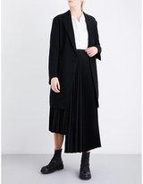 Y's Ys Notch-lapel wool coat