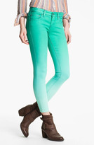 Free People Ombre Skinny Jeans (Graphite)