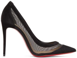 Christian Louboutin Black Galativi 100 Heels