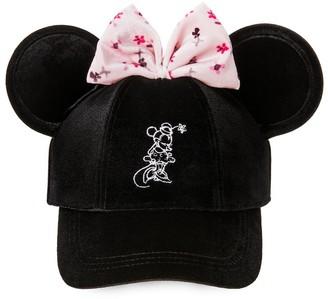 Disney Minnie Mouse Velvet Ear Baseball Cap for Women