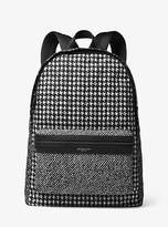 Michael Kors Kent Houndstooth Nylon Backpack