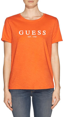 GUESS Short Sleeve 1981 Rolled Cuff Tee