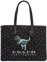 Coach T-Rex & Stars Cotton Canvas Tote Bag