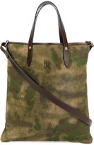 Golden Goose Deluxe Brand military tote bag