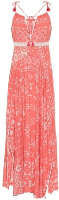 Poupette St Barth Ollie printed maxi dress