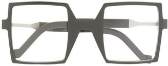 Va Va Oversized Square Glasses