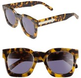 Karen Walker Women's X Monumental Pablo 50Mm Polarized Sunglasses - Crazy Tortoise