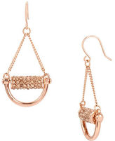 Kenneth Cole New York Salt Mines Crystal Paved Chandelier Earrings