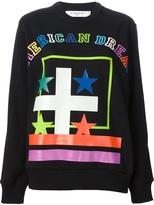 american dream printed sweatshirt
