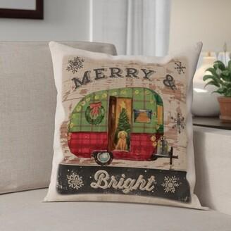 "The Holiday Aisleâ® Christmas 18"" Throw Pillow Cover The Holiday AisleA"