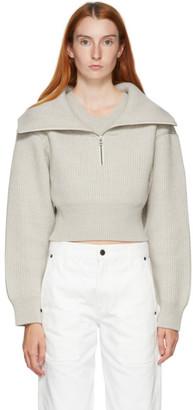Jacquemus Grey La Maille Risoul Sweater