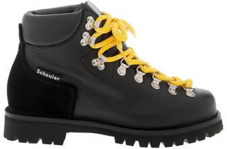 Proenza Schouler Black Hiking Boot