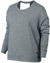 Nike Open Back Long Sleeve Top