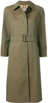 Burberry Pre Owned belted trench coat