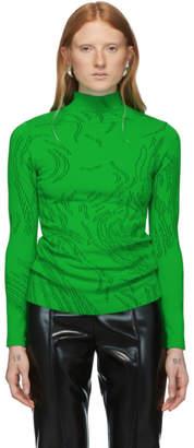 Namacheko Green and Black Nyas Turtleneck