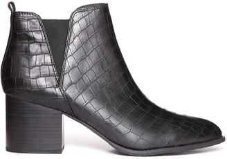 BC Footwear Croc Depth Ankle Boot Black 7
